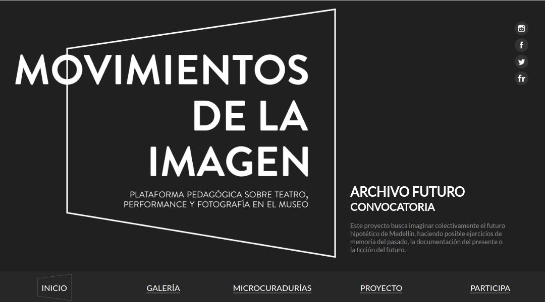 Movimientos de la imagen – Museo de Antioquia