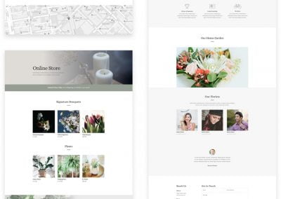 Lovely Florist Layout Pack (7 pages)