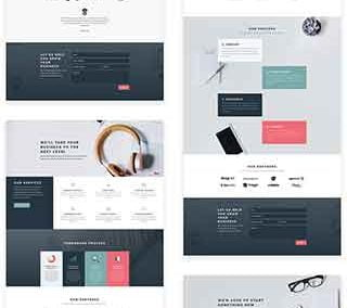 Divi Layout Pack Consultancy (5 pages)