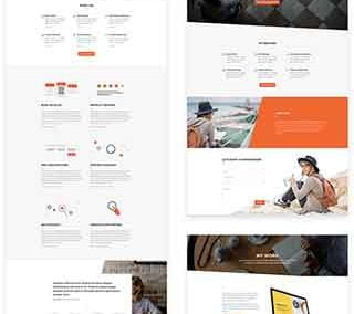 Copywriter Layout Pack (9 pages )