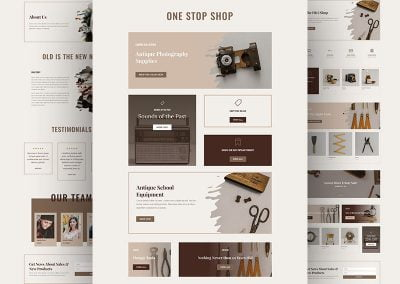 The Online Store Layout Pack (5 pages)