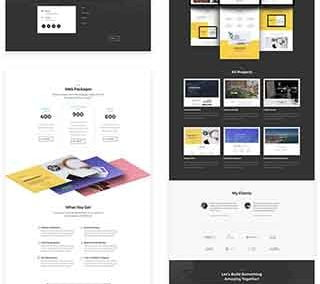 The Freelance Layout Pack (5 pages )