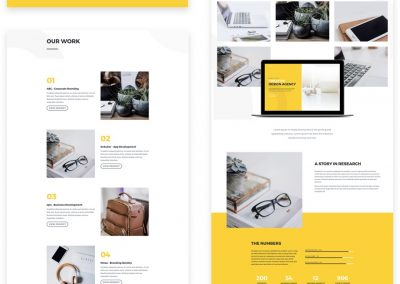 Desing Agency Layout (9 pages)