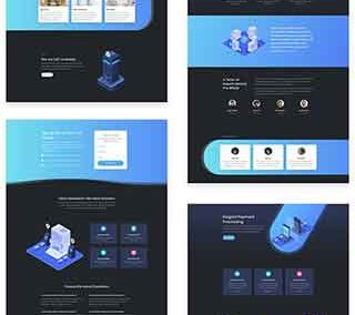 Digital Payments Layout pack (8 pages)