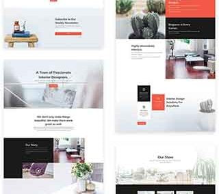 Interior Desing  Layout Pack (7 pages)