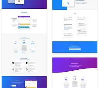 App Marketing Layout Pack (5 pages)
