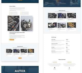 Auto Repair Layout Pack (8 pages)